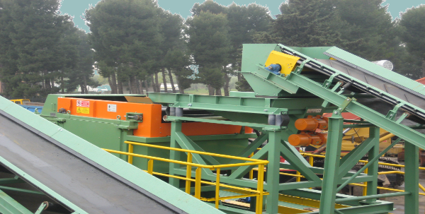 macchina cernitrice per metalli