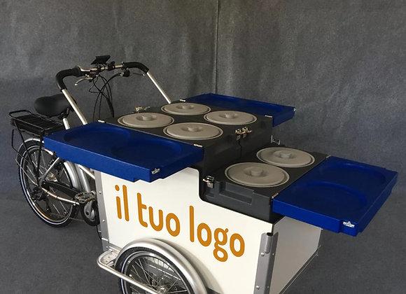 Panda e-Bike per la tua gelateria mobile - prezzo iva esclusa già montata