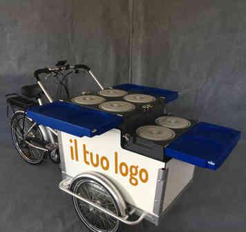 panda bike per la tua gelateria mobile