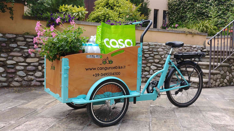 canguro e-bike: pratica ed ecologica