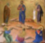 Transfiguration, Duccio.png