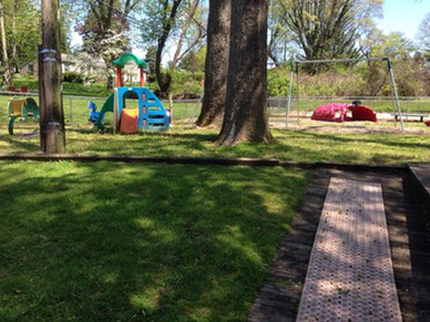 TWO LARGE PLAYGROUNDS
