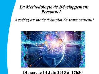 Conférence Juin 2015