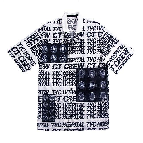 CT crew print shirt