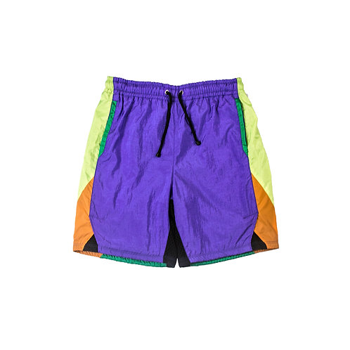 Ope patchwork short