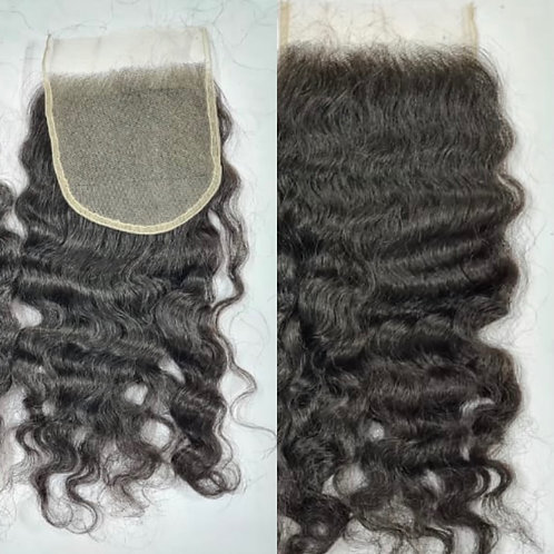 Burmese Curly 5x5 Closures