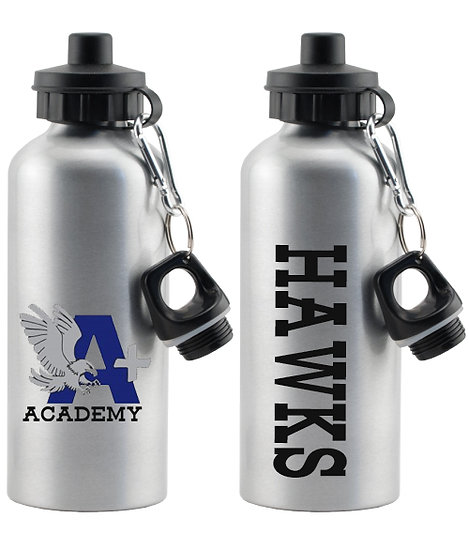"A+ ACADEMY ""Hawks"" Water Bottle"