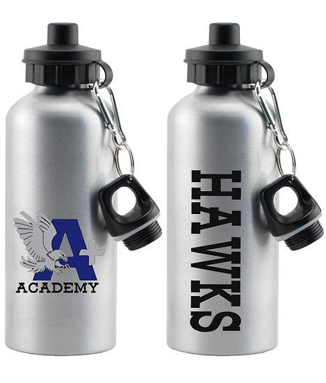 """A+ ACADEMY """"Hawks"""" Water Bottle"""