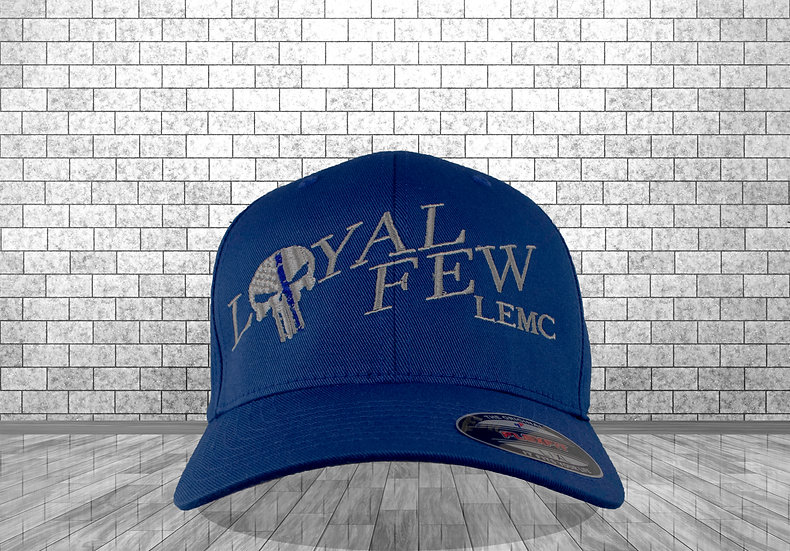 LOYAL FEW LEMC - Royal Blue - Flex Fit baseball style Cap
