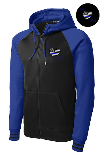 Varsity Full-Zip Hooded Jacket