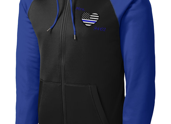 Varsity Full-Zip Hooded Jacket