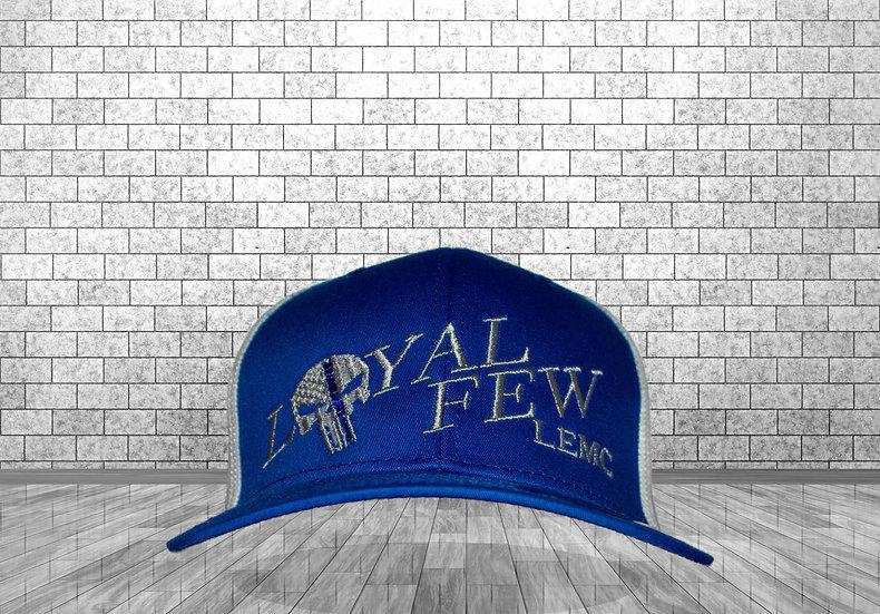 LOYAL FEW LEMC - Royal Blue/White - Flex Fit baseball style Cap