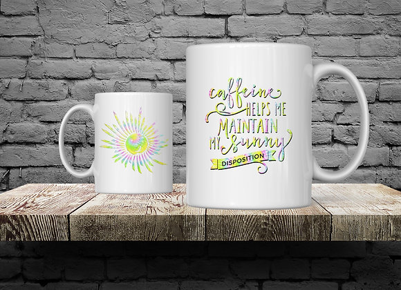 Sunny Disposition 15 oz Coffee Mug