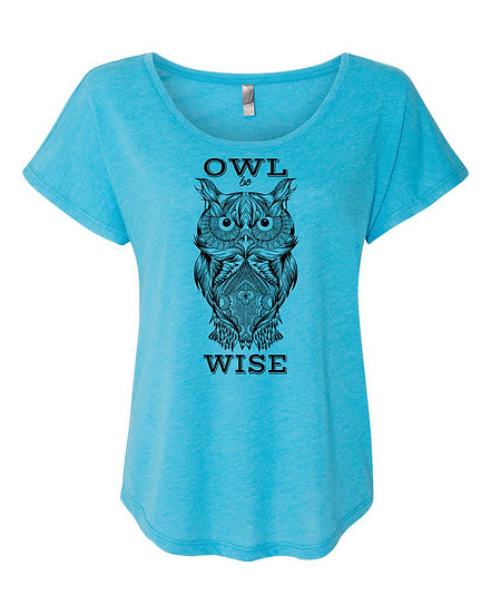 Owl be Wise Tee