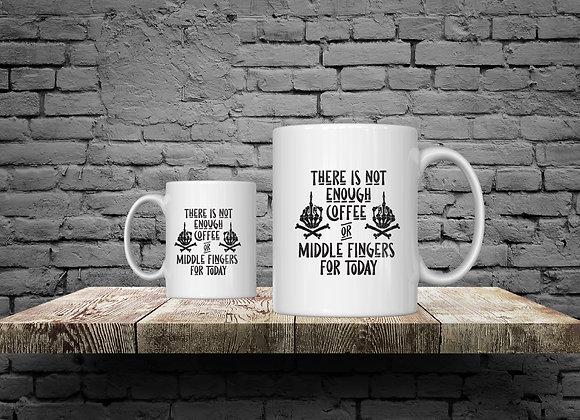 Middle Fingers15 oz Coffee Mug