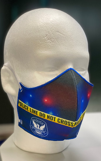 Phoenix Police Department Custom Print Mask