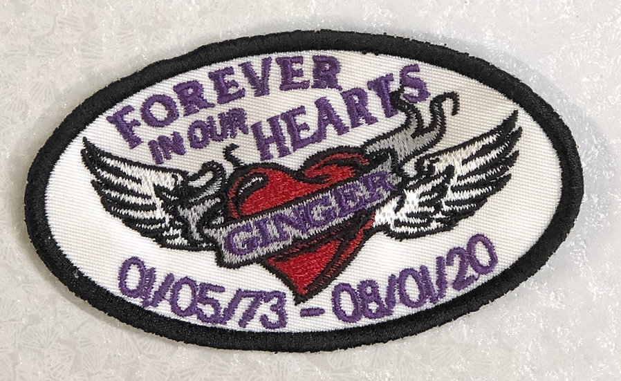 Ginger Memorial Patch
