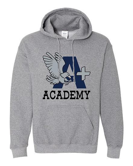 A+ ACADEMY Adult Hooded Sweatshirt