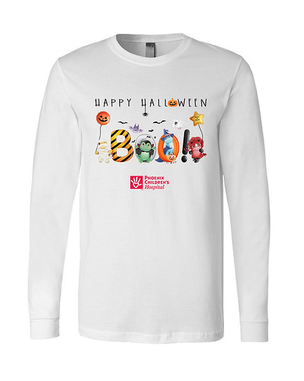 BOO! Happy Halloween Long Sleeve