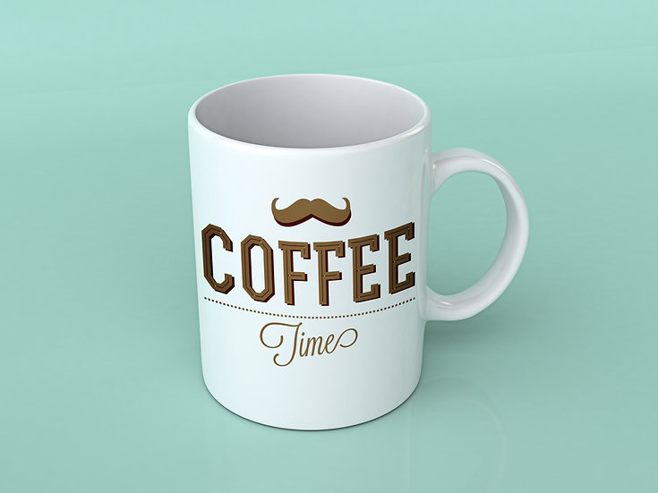 COFFEE TIME - Coffee Mug