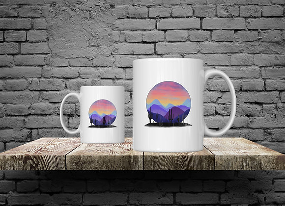 Desert Sunset 15 oz Coffee Mug