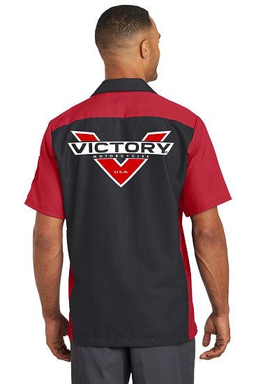 Victory Red/Black Red Kap Shirt