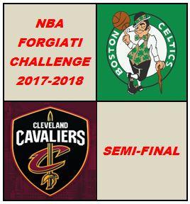 NBA Forgiati Challenge. Seconda semifinale