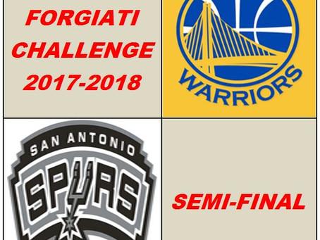 NBA Forgiati Challenge. Prima semifinale