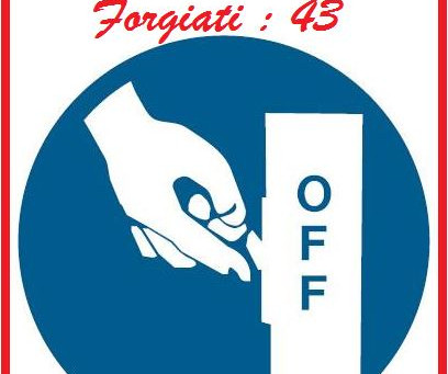 Switch off forgiato