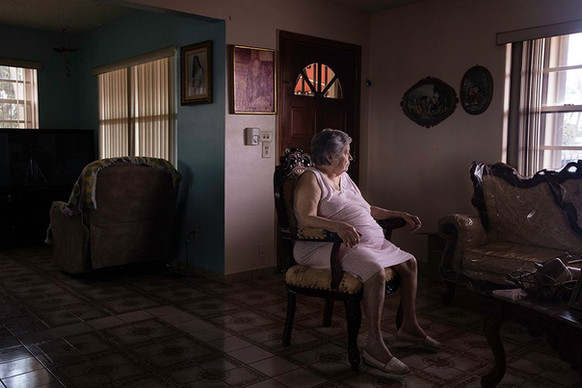 """Ania Moussawel, """"The Days are Long,"""" 2020, digital photograph."""