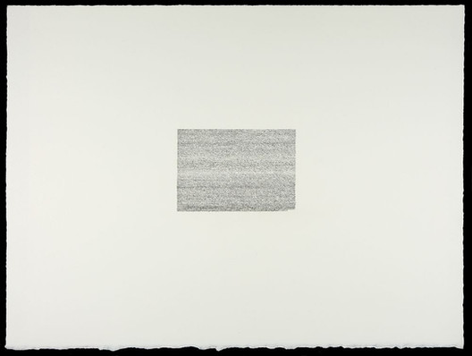 """Martin Brief, """"Declaration from, Documents of Freedom,"""" 2020, ink on paper."""
