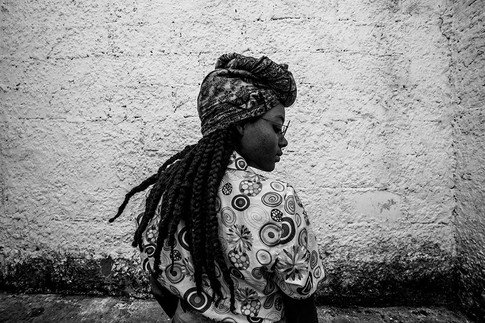 """Kevin B. Jones, """"Afro Mujer de Colombia - Medellín, Colombia  (2019),"""" 2019, photography."""