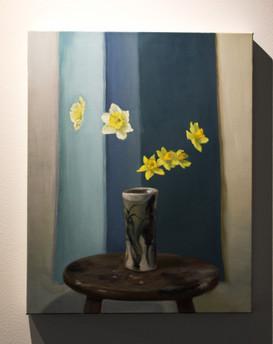 "Nicole Duet, ""Daffodils,"" 2020, Oil"