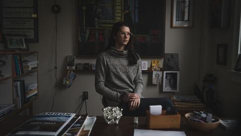 "Phillip LeBlanc, ""Olivia,"" 2020, digital photography / glossy print."