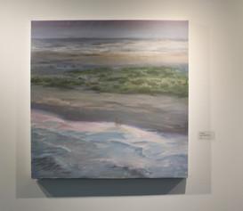 "Nicole Duet, ""Dancing at Grand Isle,"" 2020, Oil"