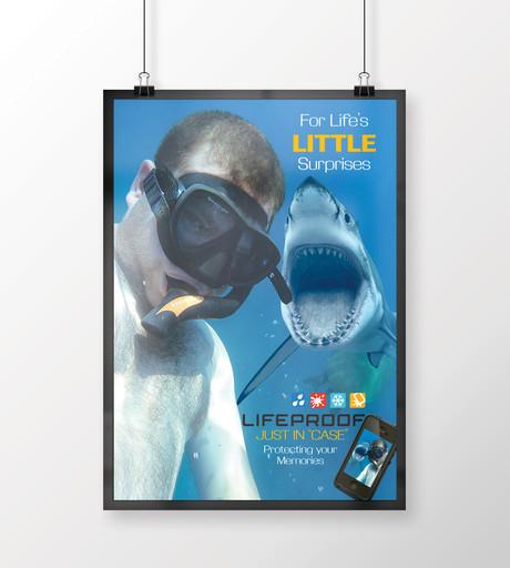 Lifeproof Shark Ad
