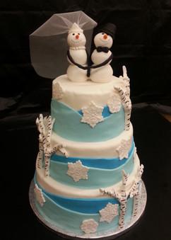 Snowman Wedding