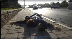 Dead Motor Cyclist