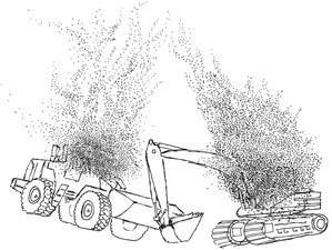 Ch 4 No 3 Purlers descend onto machines