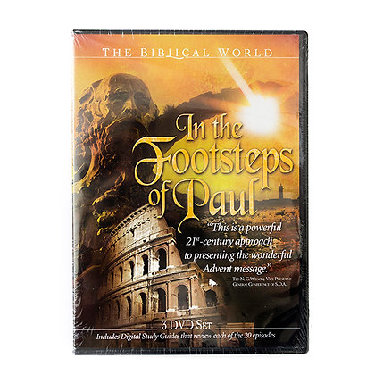 In the Footsteps of Paul - DVD