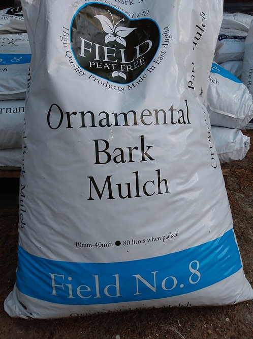 Ornamental bark mulch 80L