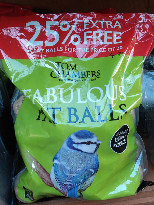 Fat balls pack of 25