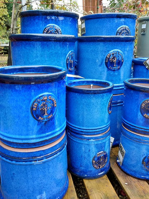 Heritage cylinder pot -Blue. Prices from: