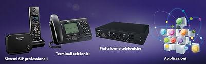 Soluzioni IP Pbx Panasonic