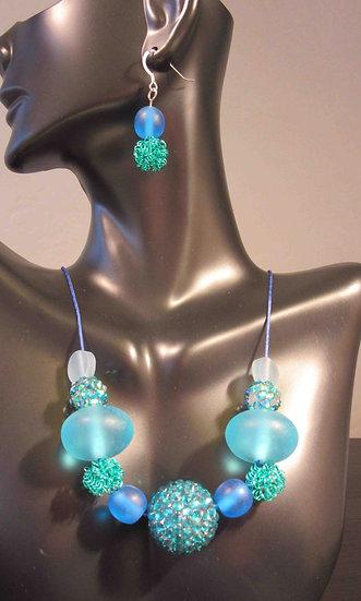 Blue Fantasy necklace
