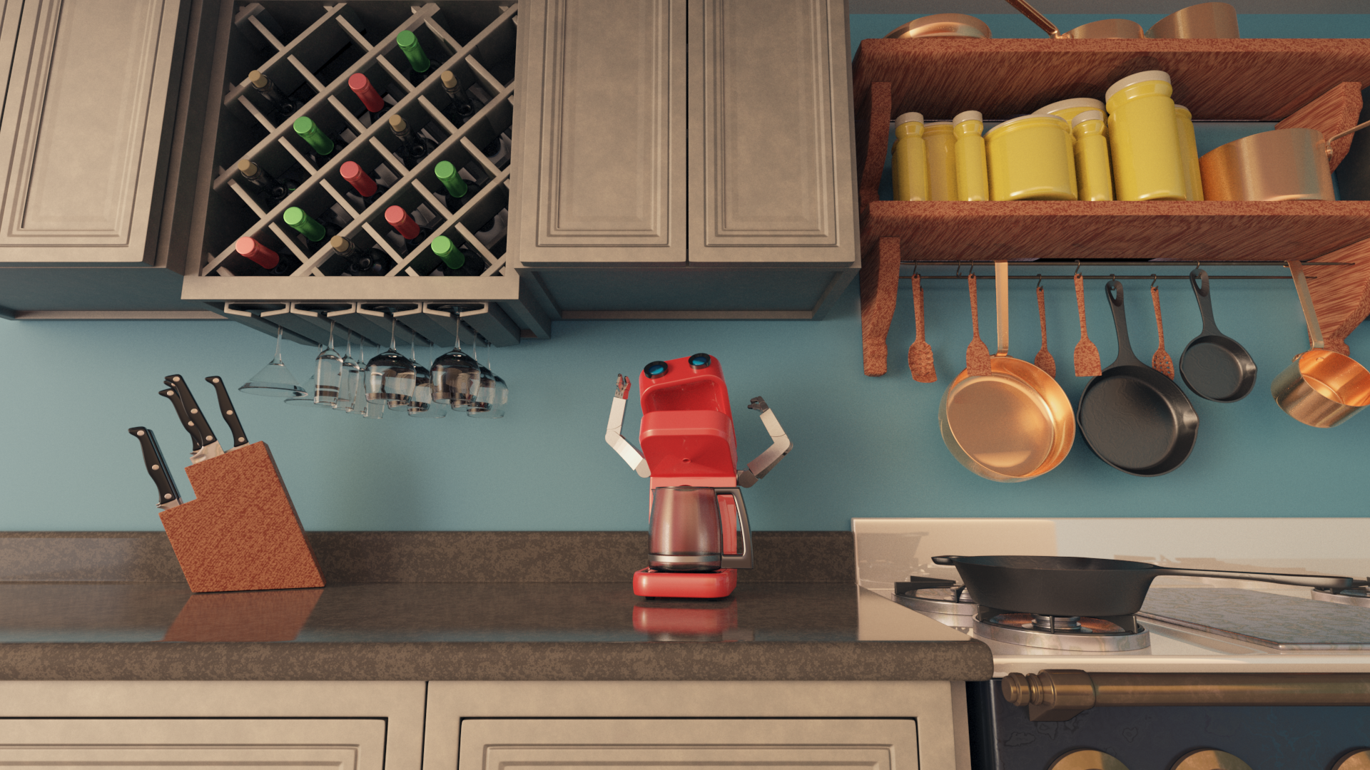 KitchenAnimation Beauty Render