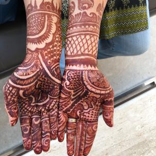 Three Distinctive Moments Of Mehndi - Henna