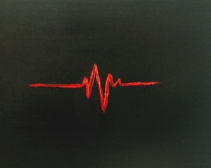 Heart beat.....I want to have no regret when it flatlines.