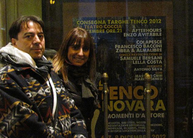 Premio tenco Novara Giada e Walter