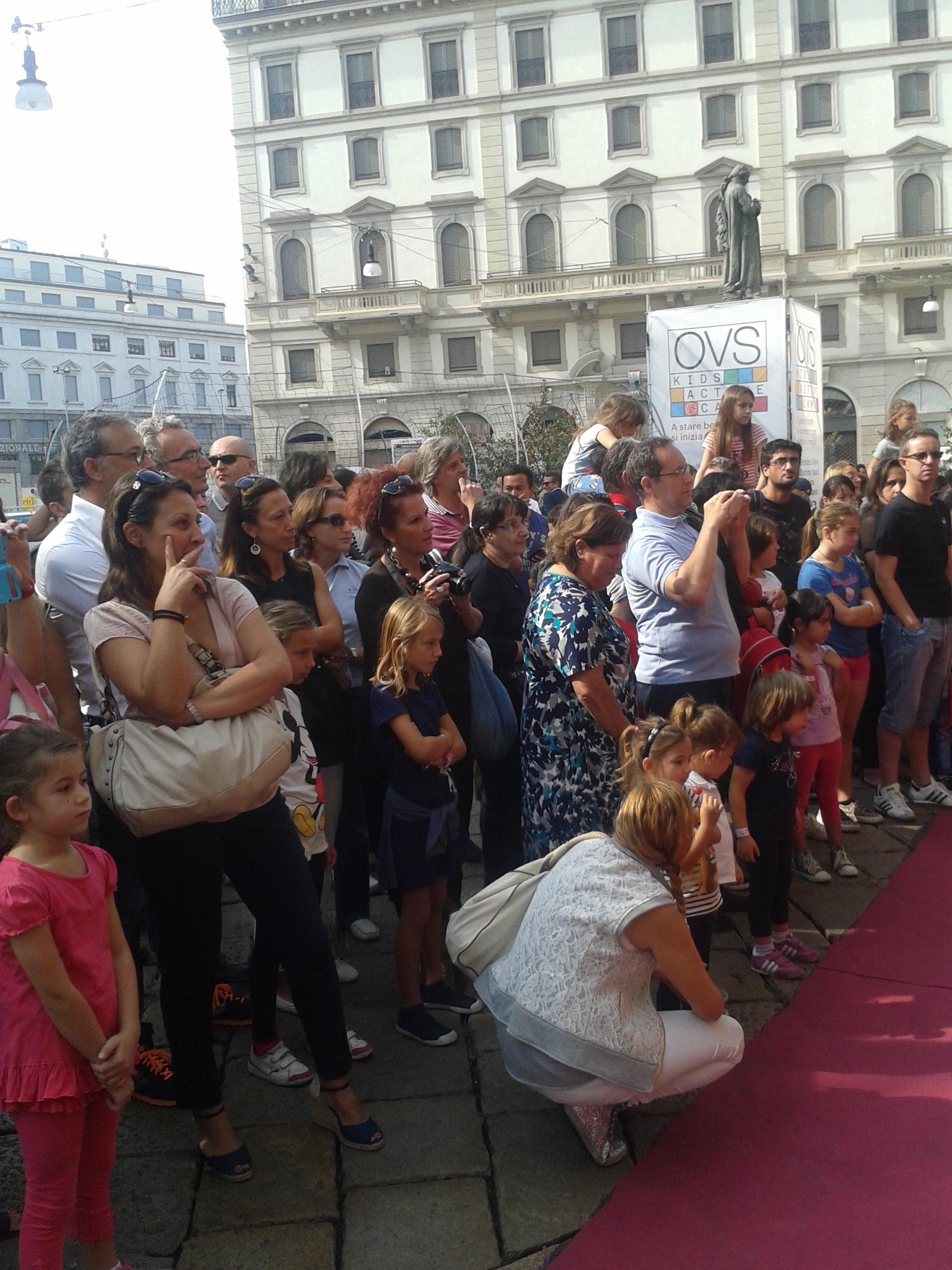 Evento OVS Kids Camp Duomo Milano